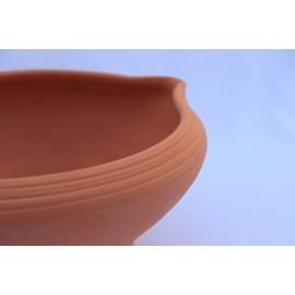Kaktusztál csiga mintával