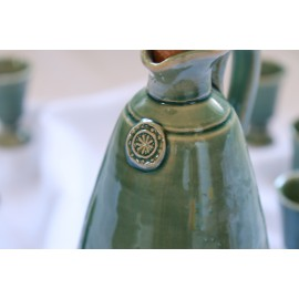 Pálinkás butella kupicával